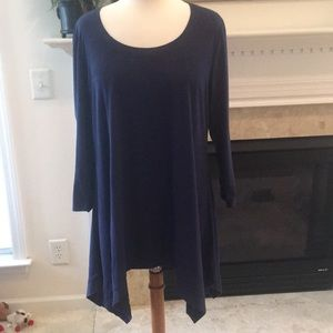 Chelsea & Theodore Asymmetrical Tunic